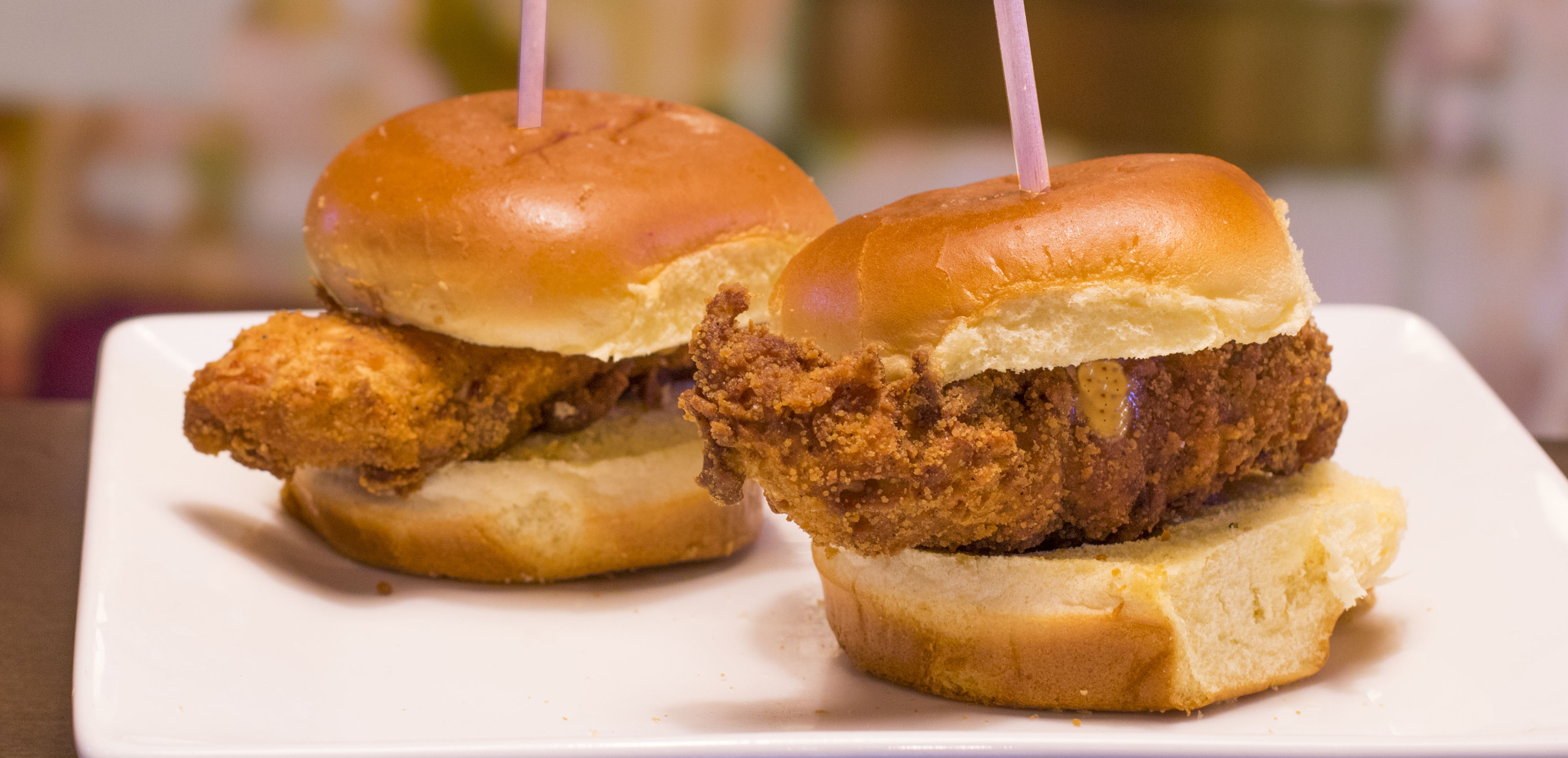 Crispy Chicken Sliders